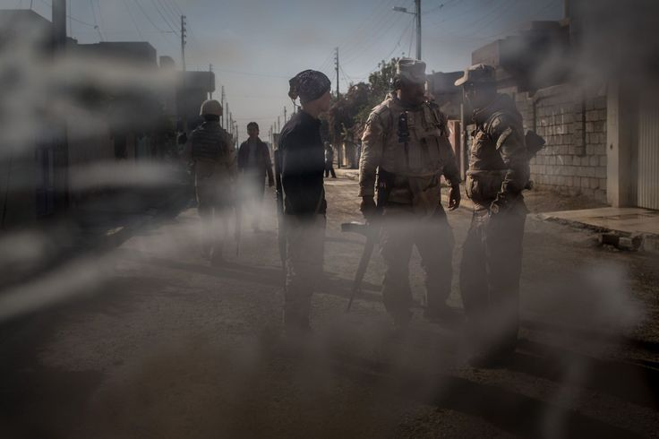 Danger and relief as Iraqi Special Forces push deeper into Mosul