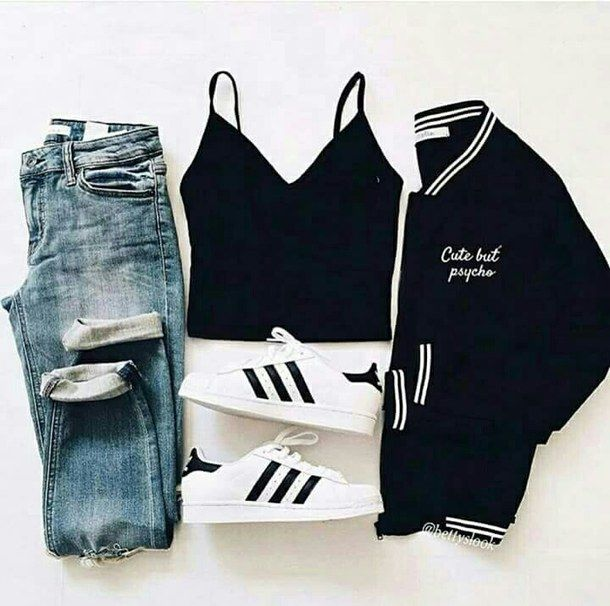 Camouflage coat   Camille Callen   Mango jacket   androgynous style joggers   pair of classic Adidas Superstars Jacket: Mango* Joggers: Forever 21* Top: Zara* Sneakers: Adidas.