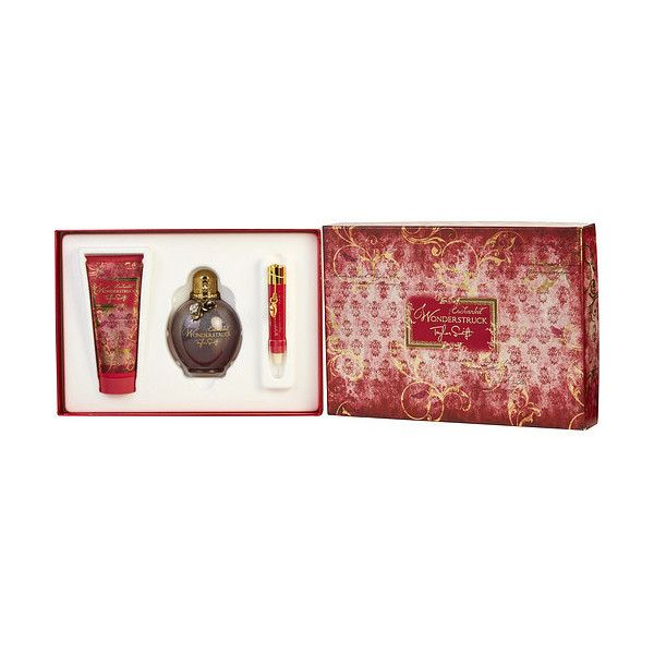 Wonderstruck Enchanted Taylor Swift By Taylor Swift Set ($39) ❤ liked on Polyvore featuring beauty products, fragrance, perfume fragrance, eau de parfum perfume, eau de perfume, parfum fragrance and edp perfume