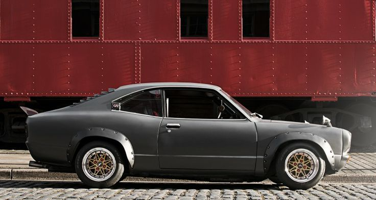 shakotan-mazda-rx3-stance #Rvinyl is all about #JDM #Tuning...How about you?