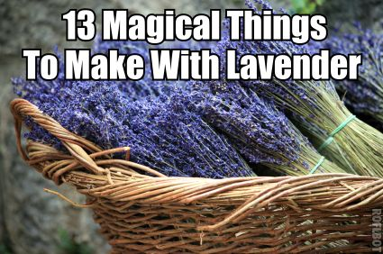 13 Magical Things To Make With Lavender