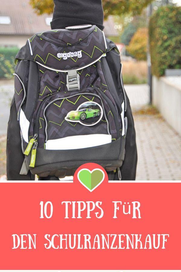 4691120633bcf 10 Tipps für den Schulranzenkauf  Werbung  Ergobag  Schule  Einschulung   Schulranzen