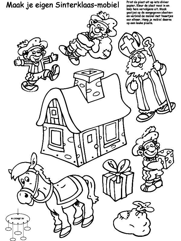 Fijne Kerst Kleurplaat Kleurplaat Vlaggetjes Slinger Kids N Fun De Basteln