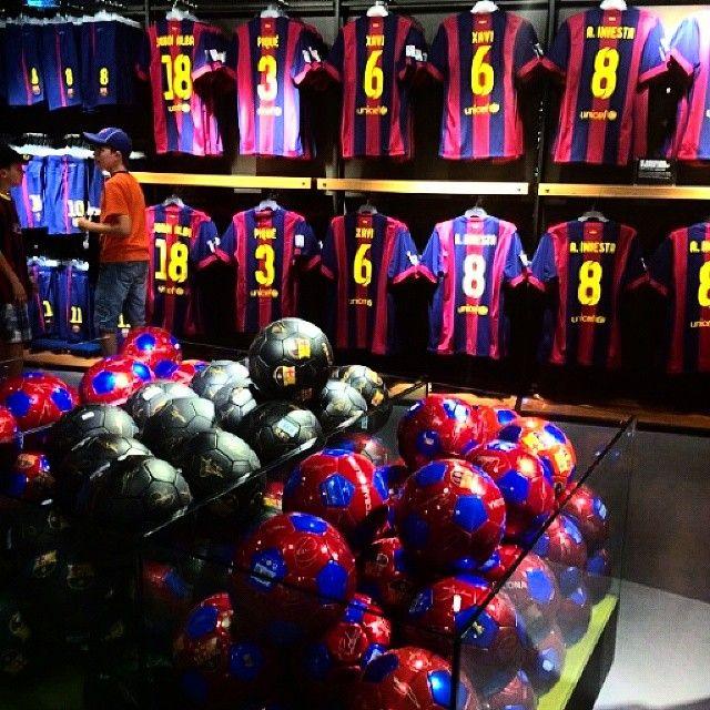 Barça! (FC Barcelona store @ Camp Nou) - Barcelona ...