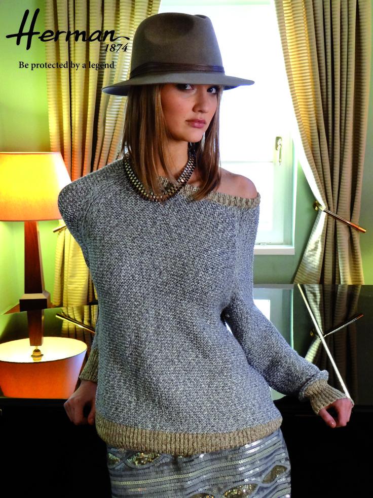 http://www.hatshowroom.com/marques/6-herman-1874 à découvrir d'urgence #chapeau #chapeaufeutre