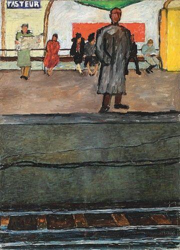 Metro Pasteur, 1953 - Joseph Czapski