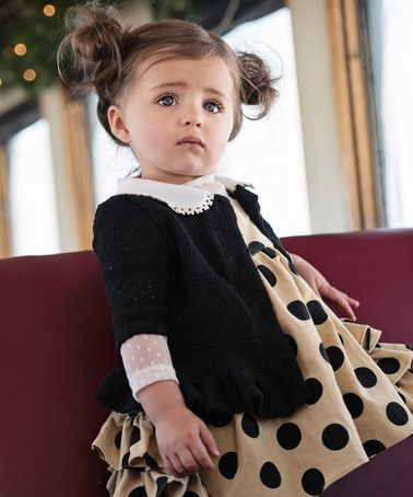 This Black Jane Cardigan - Infant, Toddler & Girls by Persnickety Clothing is perfect! #zulilyfinds