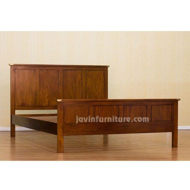 solid wood bed frame wooden bed frames mahogany furniture 250 - Wooden Bed Frame