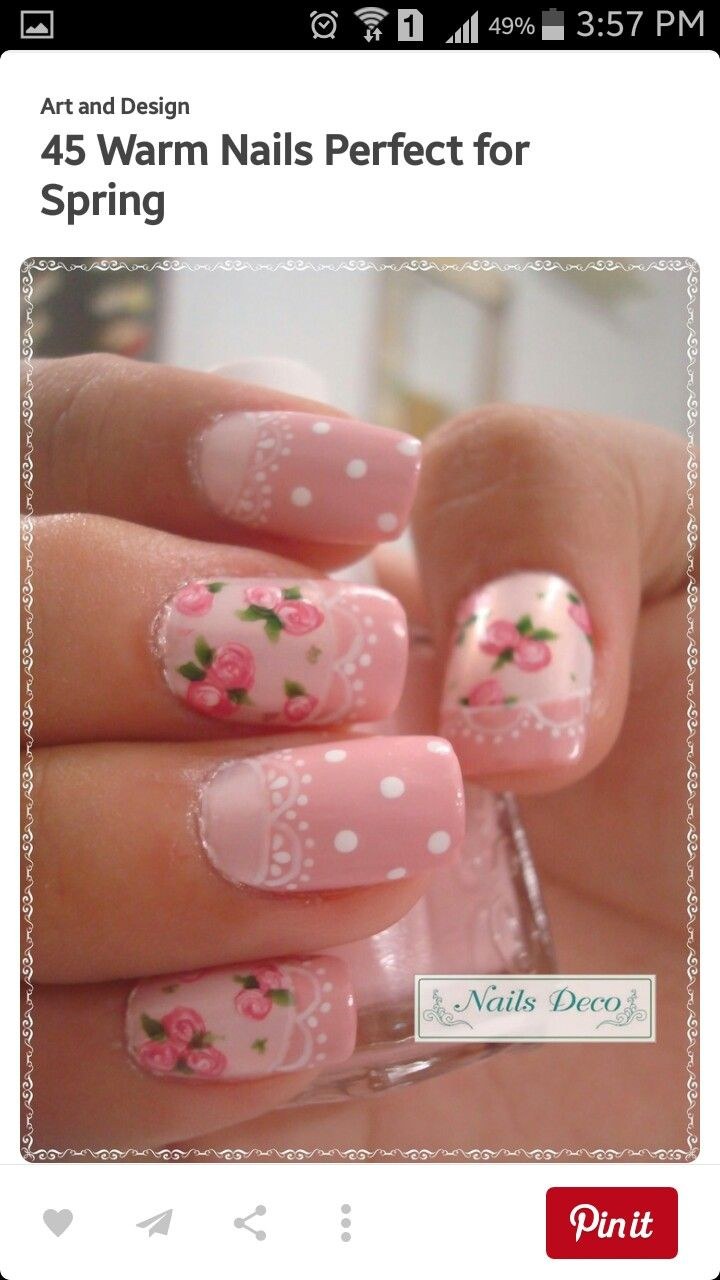 16 best Uñas images on Pinterest | French nails, Nail art ideas and ...