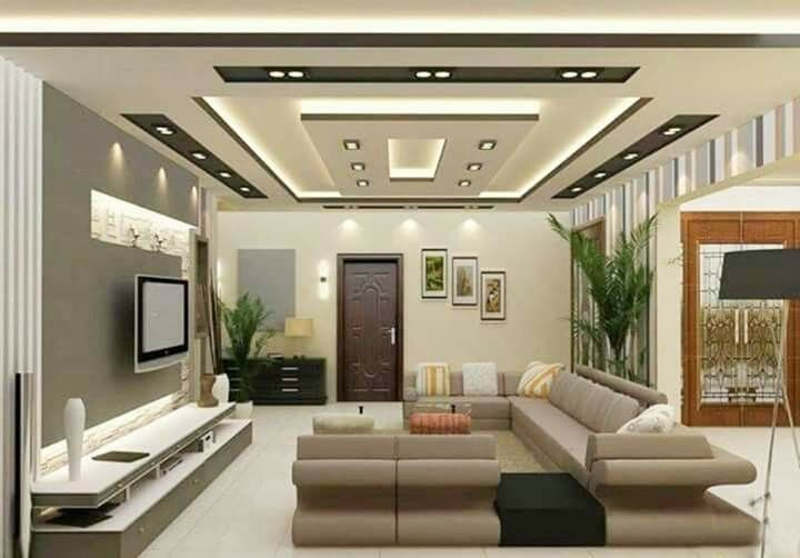 Interior Design Ideas For Living Room With Good Lights Design