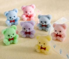 These had pins at the back so you could attach to your clothing or a cushion :)