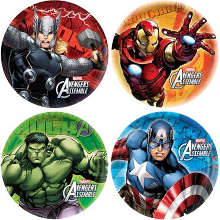 Captain America Birthday Party Supplies - visit to grab an unforgettable cool 3D Super Hero T-Shirt!
