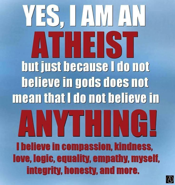 I'm Good Without God! #DayOfReason #Atheism