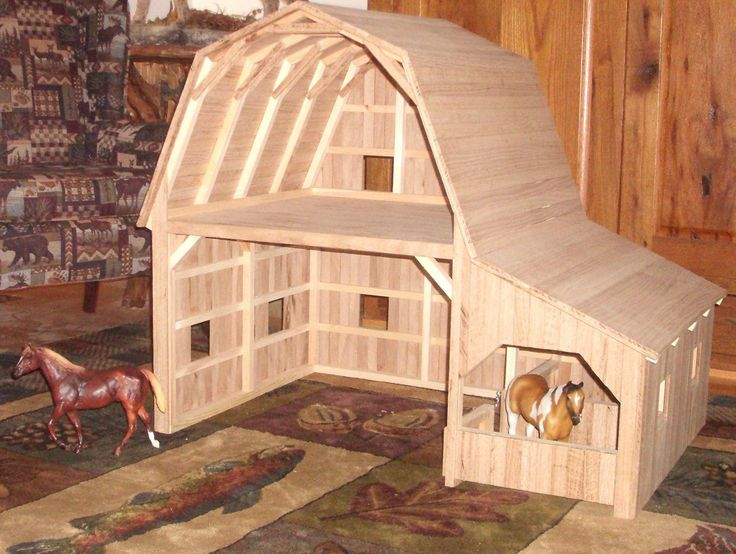 You could easily make the top into a hay loft with a feed or tack room or even have some tack ob the bottom level so that its easy to put it on the horses which are in the stalls. You could also add realistic decore to this barn as the barn is pretty realistic as well!