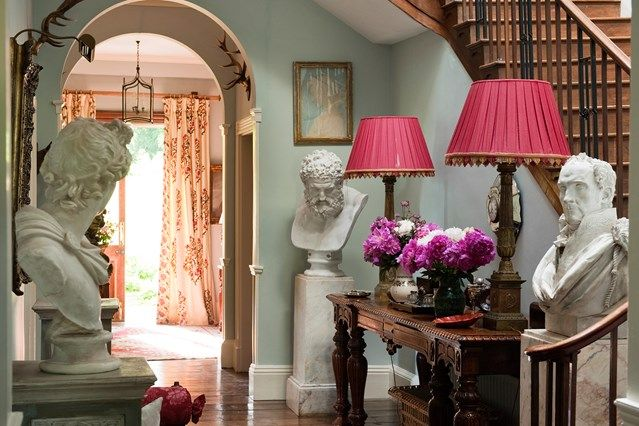 Bright Hall on HOUSE. Hallway Design Ideas - Make your hallway a stylish room of its own with these design ideas
