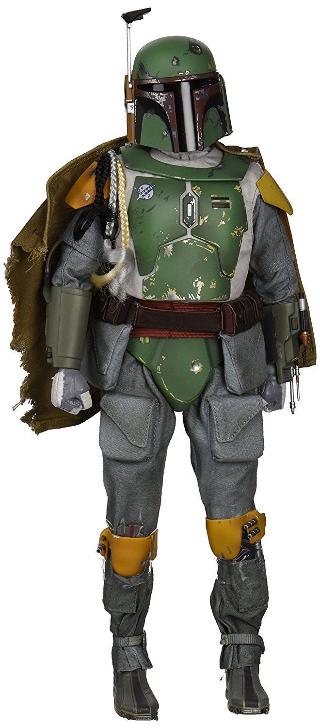Sideshow Collectibles 1:6 Scale Star Wars Episode V The Empire Strikes Back Boba Fett Toy (Green): Amazon.co.uk: Toys & Games