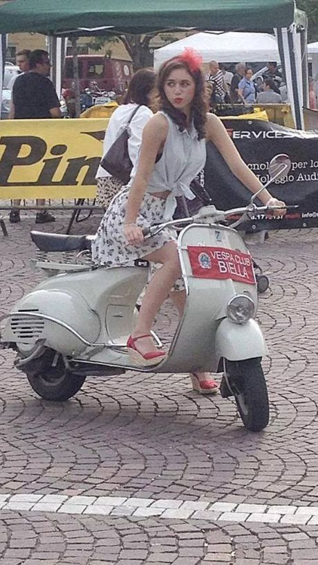 Scooter Girl Vespas 99. Adorable ScooterGirls