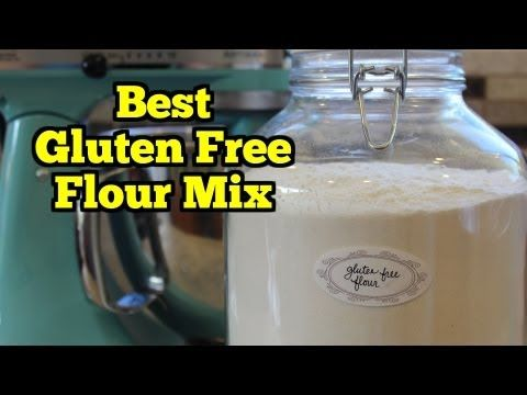 The BEST All Purpose Gluten Free Flour Mix Recipe