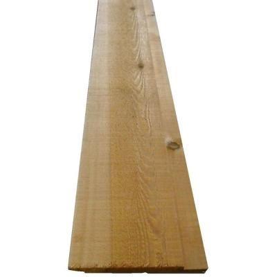 Best 1 In X 10 In X 12 Ft Western Red Cedar Channel Siding 400 x 300