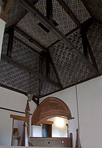 Red House ceiling