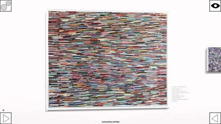 You can almost feel the rich surfaces vibrating in Rafael J. Rodriguez #paintings -   http://www.torosiete.com/rafael-j-rodriguez-3d-virtual-exhibit/ Rafael J. Rodriguez
