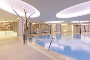 Heated Spa Pool with Massage Showers.