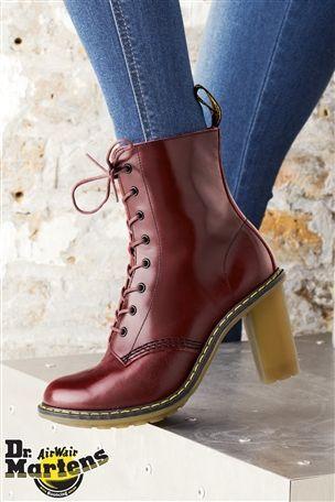must have.. Dr Martens Sadie Shiraz Heel Boots - £130