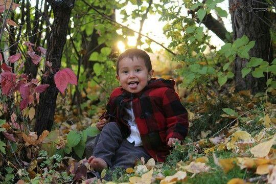 Fall. Boy