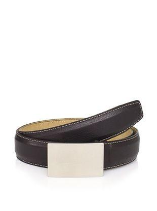 50% OFF Joseph Abboud Men's Plaque Belt (Brown)