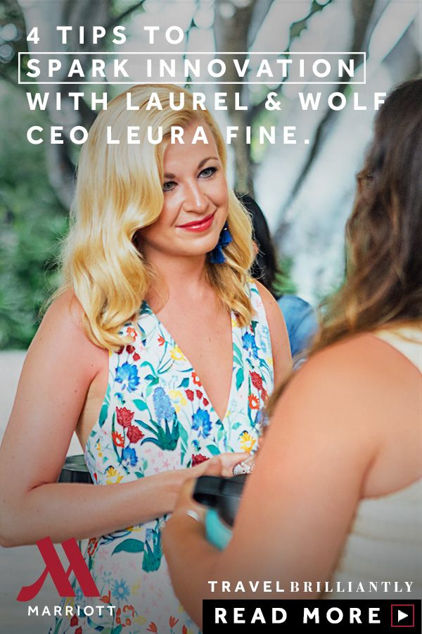 4 Tips to Spark Innovation with Laurel & Wolf CEO Leura Fine
