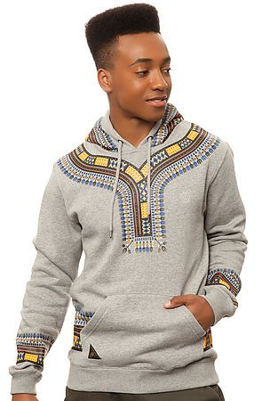 10 Deep Sweatshirt Dashiki Hoody in Heather Grey - Karmaloop.com