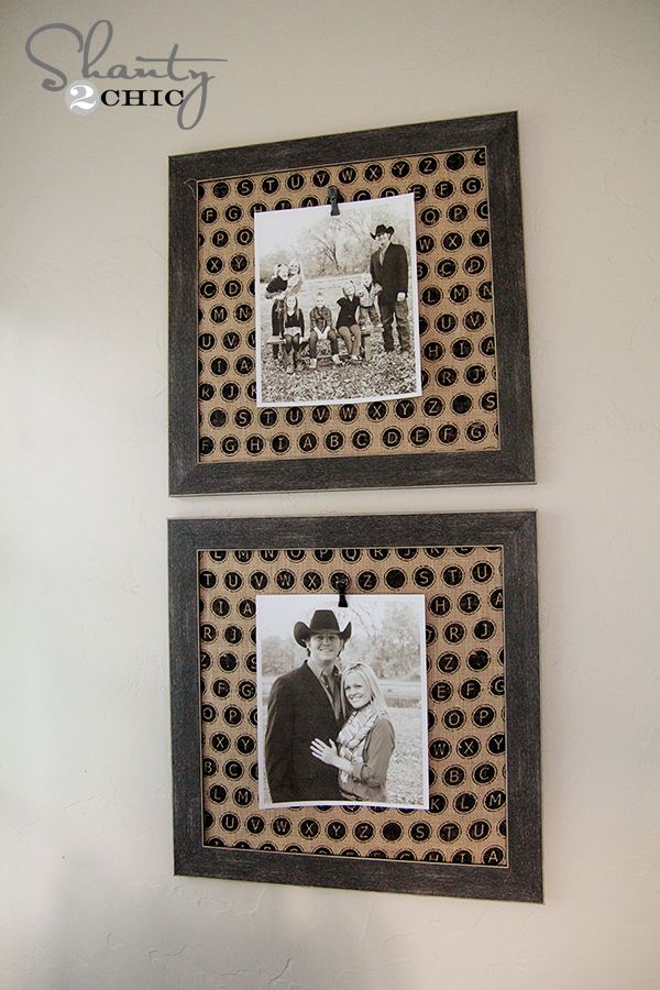 161 best Photo frame craft images on Pinterest | Home ideas, Picture ...