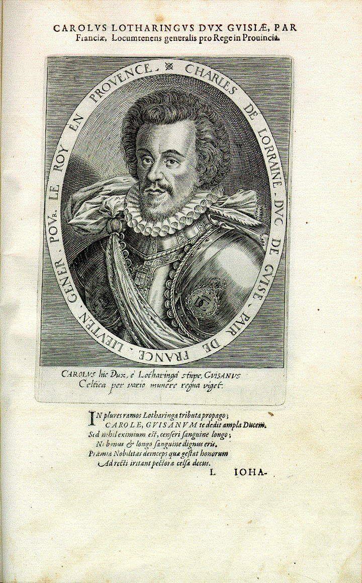 Charles de Lorraine, Herzog von Guise (1571-1640), Offizier