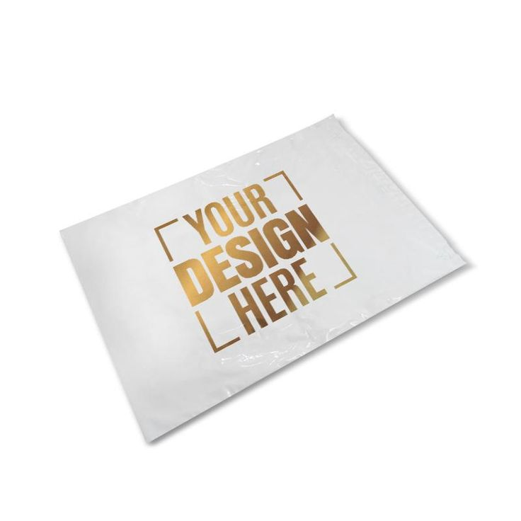 Strengthen your brand using screen printed poly envelopes. Best custom packaging materials for heavy & long industrial products packing. Best size for industrial packaging.