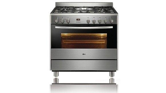 LG LF96105SS 90cm Freestanding Cooker