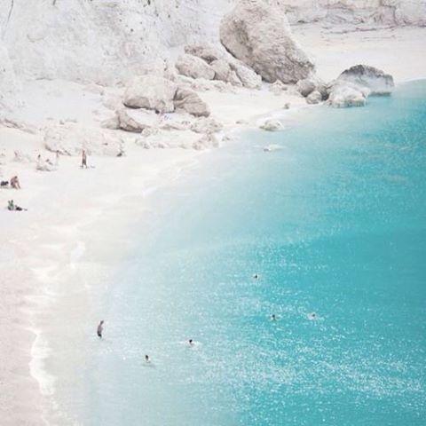 Like a tropical #beach! #IonianSea #Zante Photo credits: @4evarealxx