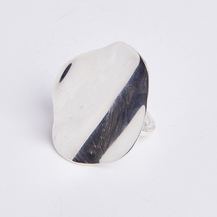 Cornelia Webb - Slized Organic Ring Small - Sterling Silver