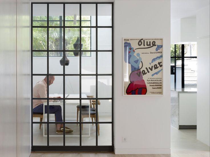 Internal window, steel window, Crittall window. Bloomsbury House - Stiff + Trevillion