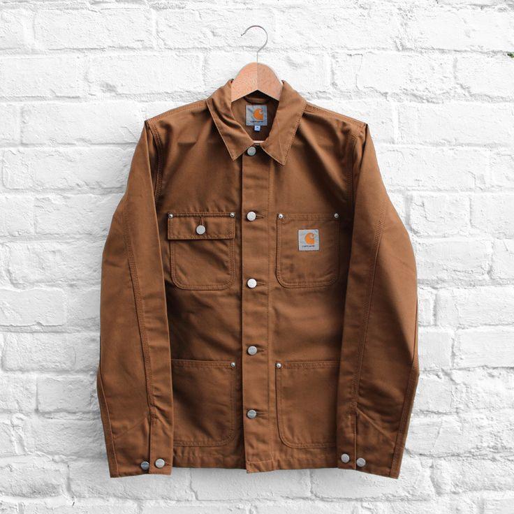 Carhartt WIP Michigan Coat Hamilton Brown #MensStyle