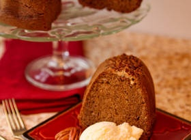 Spicy Beer Bundt Cake