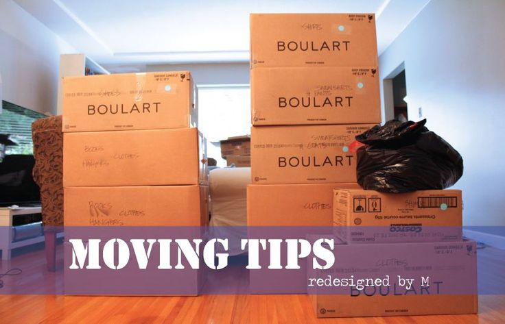 Moving Tips!