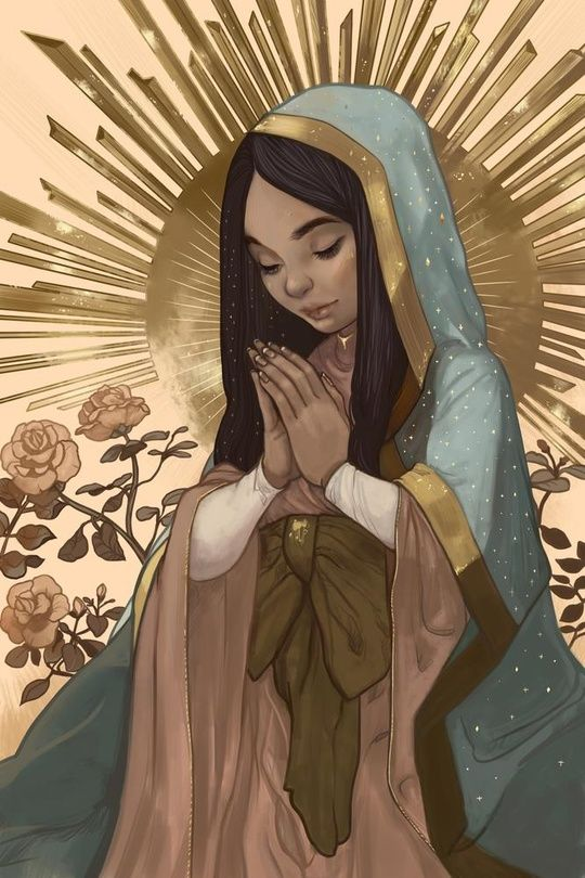 Our Lady of Guadalupe;  Madrecita by Karla Rodríguez   ; means little mother