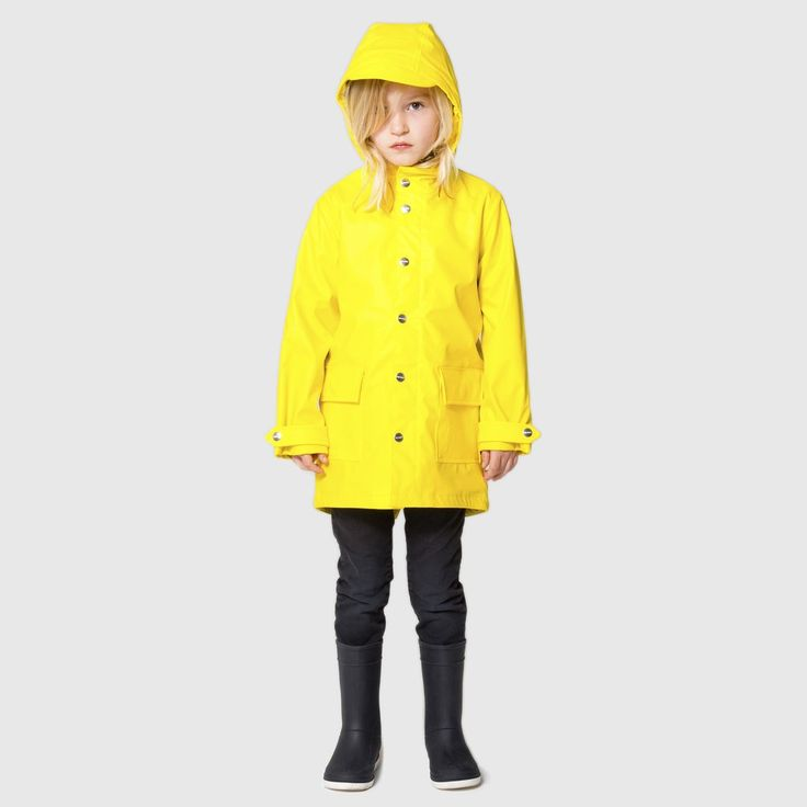 The best unisex raincoat for kids. Get yours here at www.gosoaky.com. For kids age 1 to 14 years. In seasonal colours