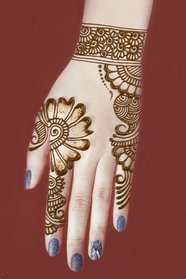 Beautiful Easy Mehndi In 2021 Mehndi Designs For Kids Mehndi Designs For Hands Full Hand Mehndi Designs