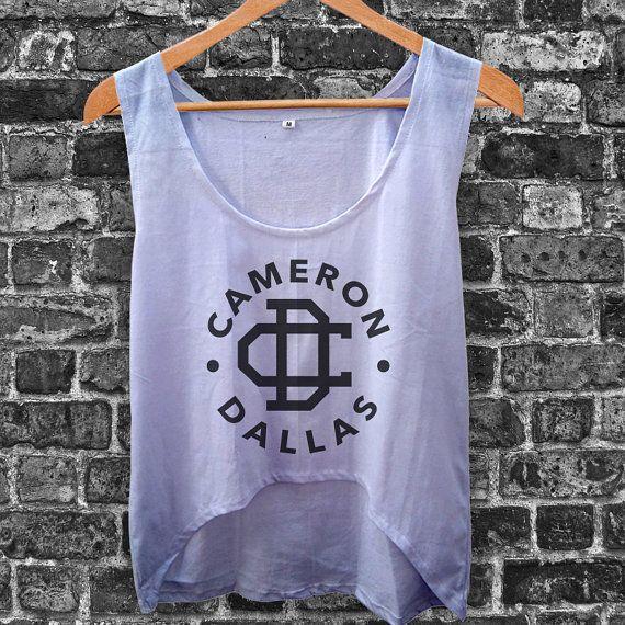 Cameron Dallas Magcon Boys Women Crop Tank by inoeshop on Etsy