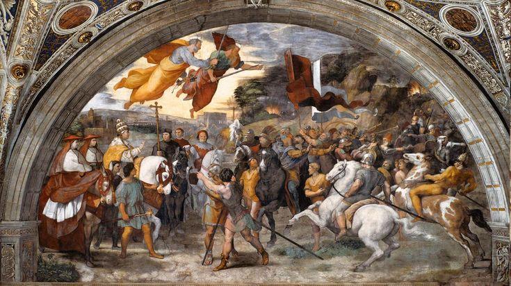 Incontro di Leone Magno e Attila La Stanza di Eliodoro è uno degli ambienti delle Stanze di Raffaello nei Musei Vaticani. Fu il secondo ad essere decorato da Raffaello Sanzio, tra il 1511 e il 1514.