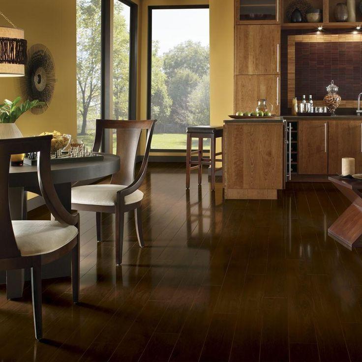bruce maple chocolate laminate flooring