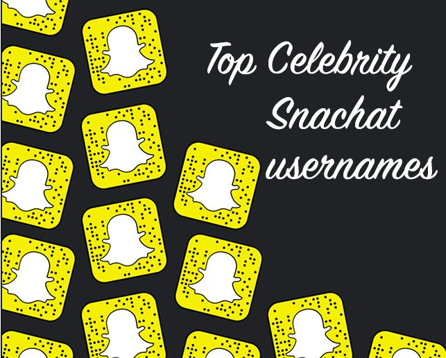 Selection of the top celebrity Snapchat usernames to follow. #snapchatcelebrities #famouspeoplesnapchat #celebritysnapchatnames #bestpeopletofollowonsnapchat #snapchat #mysnapfilter