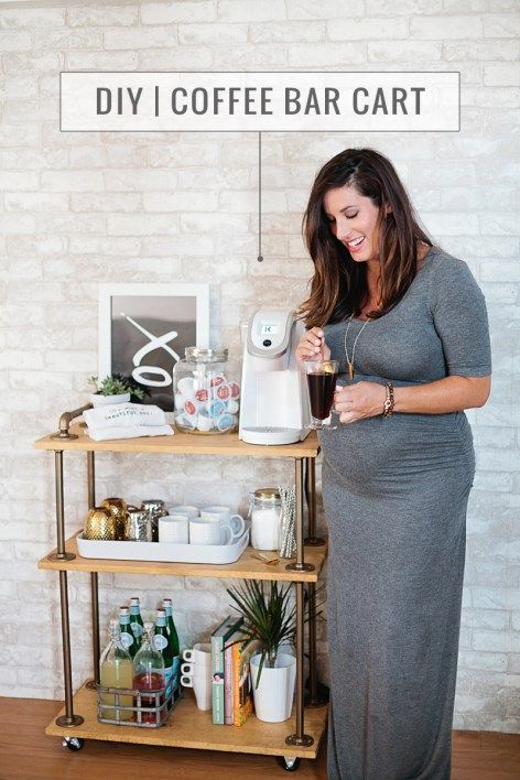 17 best ideas about coffee carts on pinterest coffee bar for Coffee carts for office
