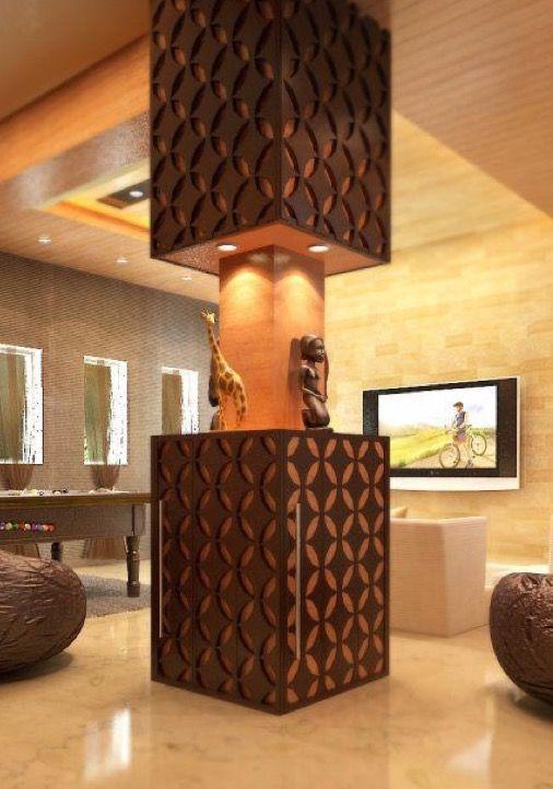 Pin By Ahmad Mansour On Pillars Column Columns Decor Pillar Design Interior
